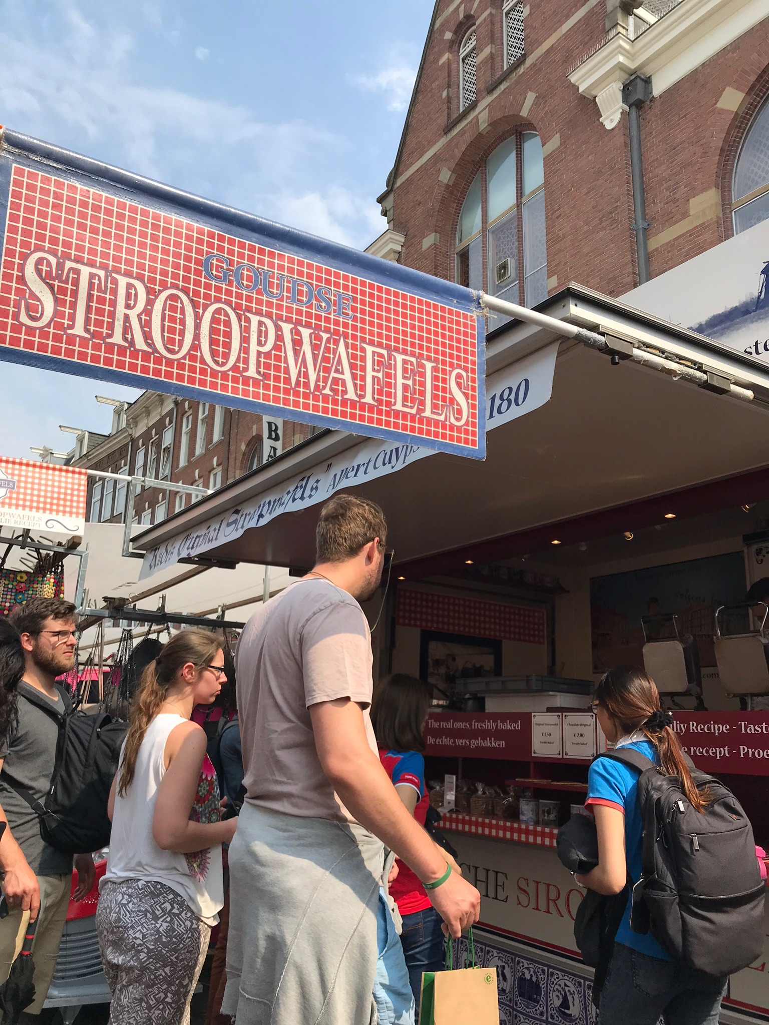 Wanderlust bee - Amsterdam
