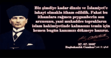 HZ MUHAMMED, F.S.MEHMET VE ATATÜRK'Ü  MÜJDELEDİ