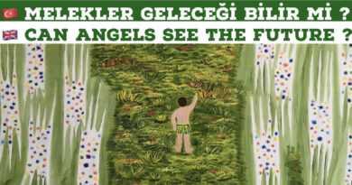 MELEKLER GELECEĞİ BİLİR /// Angels known the future.