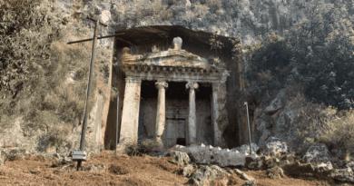 AMİNTHAS KAYA MEZARLARI /// AMINTHAS ROCK TOMBS
