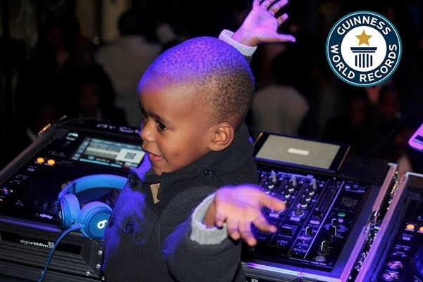 DJ Arch Jr breaks Guinness World Record