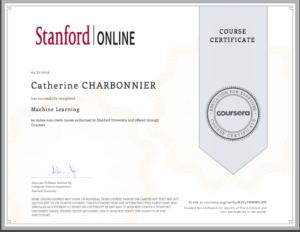 2019 certificat ML