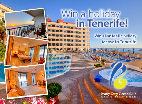 Win a Free Week's Holiday at the Superb Jardín Tropical Hotel in Costa Adeje