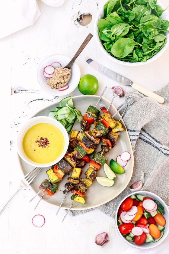 Vegetable Satay