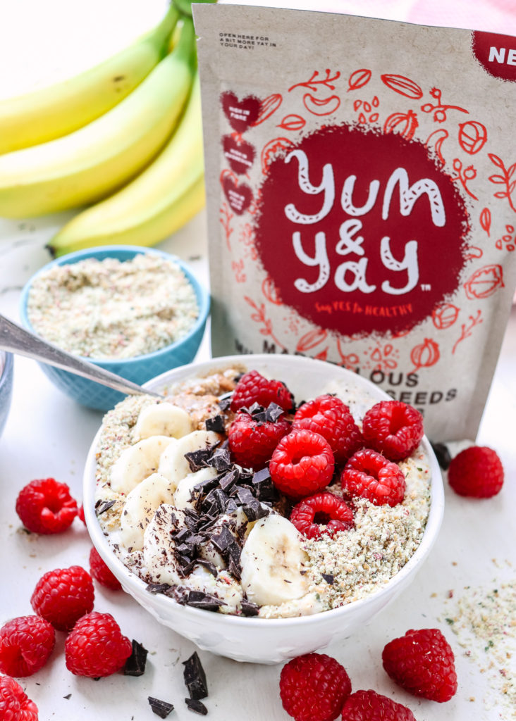 Raspberry Porridge Yum and Yay