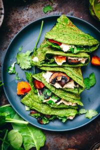 spinach-and-oat-pancake-wrap