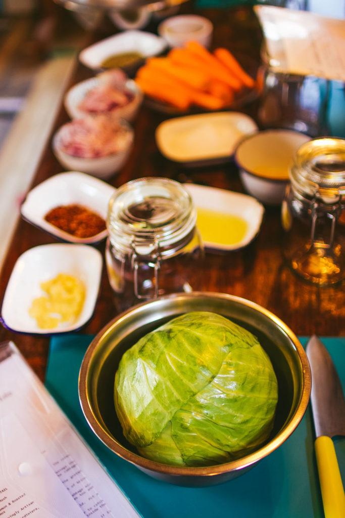 cabbage pre slice