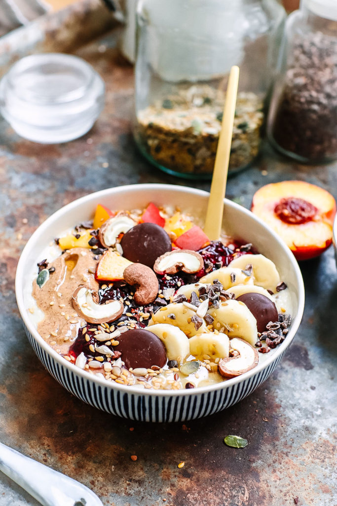 oat and millet porridge