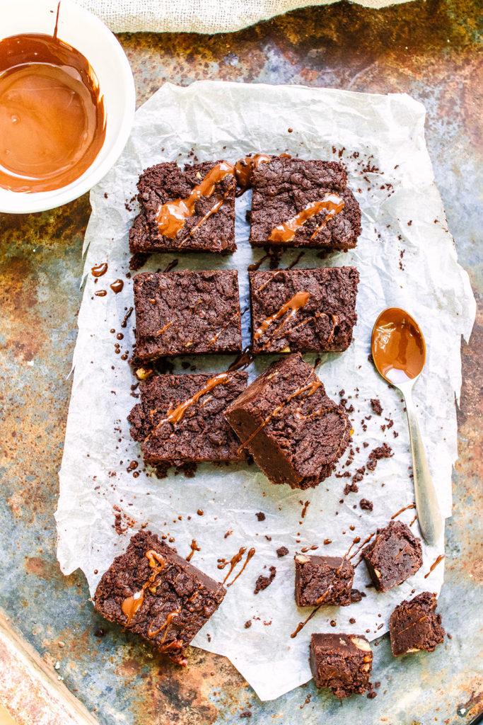 Dark choc brownies.
