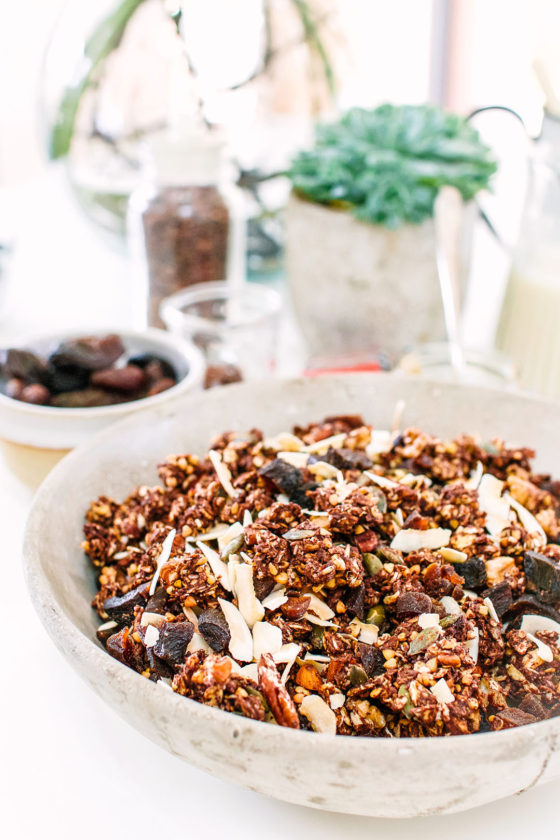 Nutty Cacao Granola