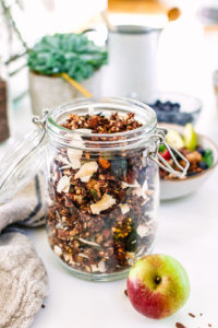 Nutty Chocolate Granola