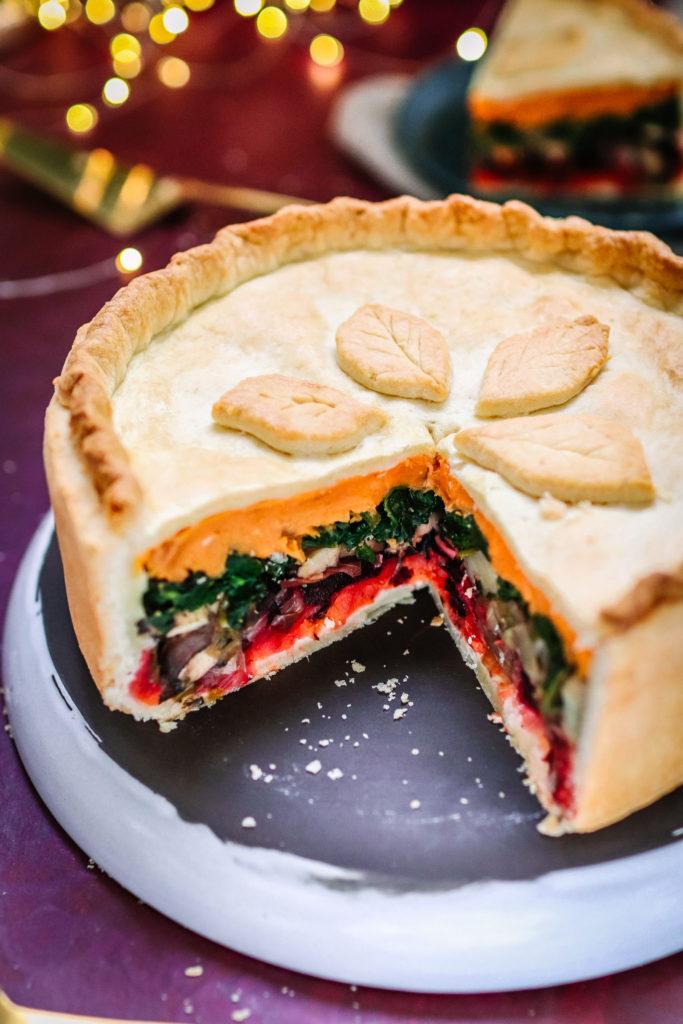 Vegan Rainbow Pie