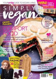 Simply Vegan Magazine Cover shot