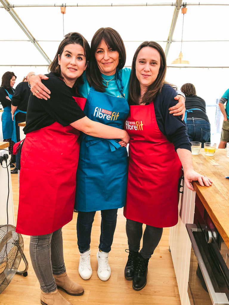 Healthy Twists and Davina McCall