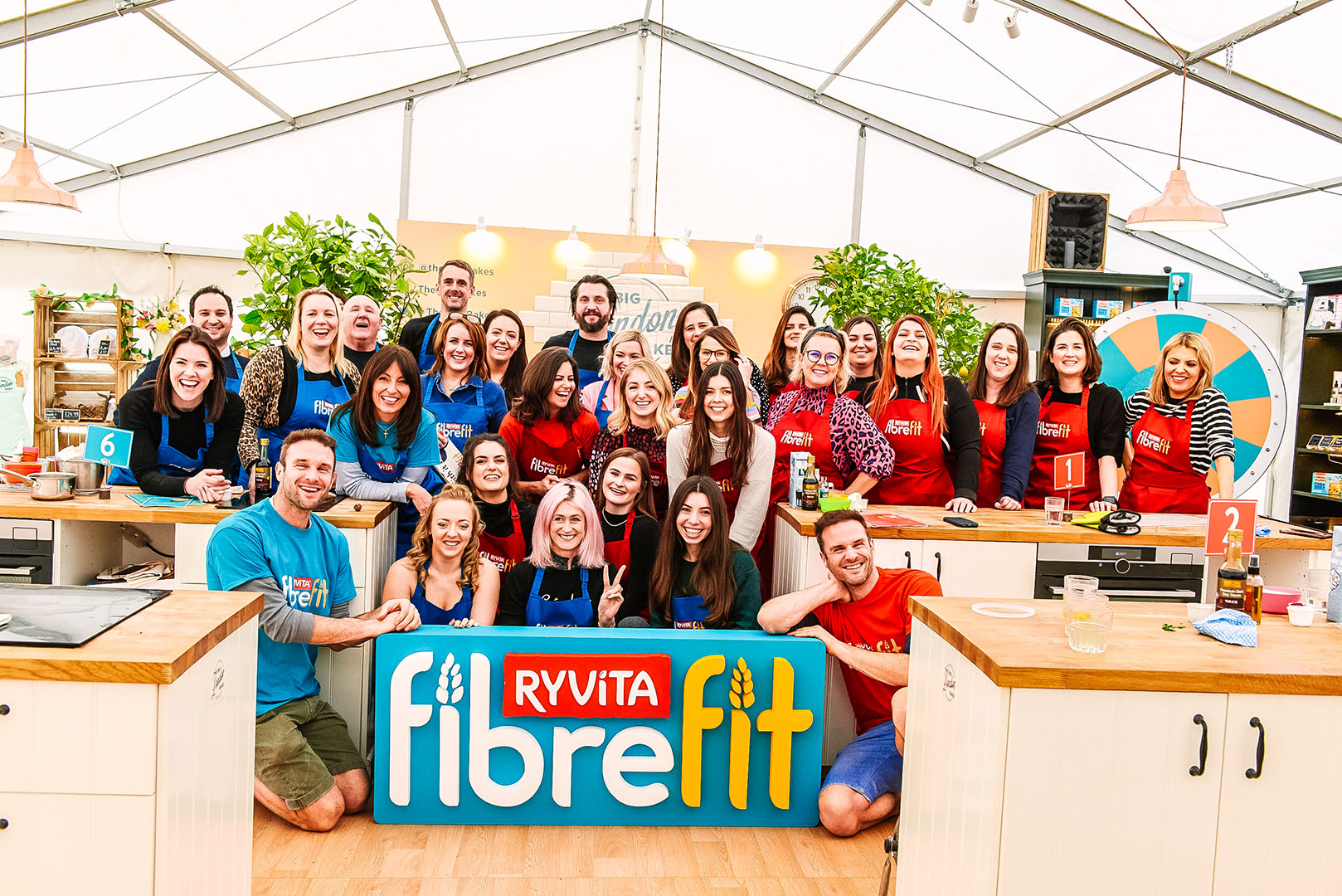Ryvita Event Fibre Fit team