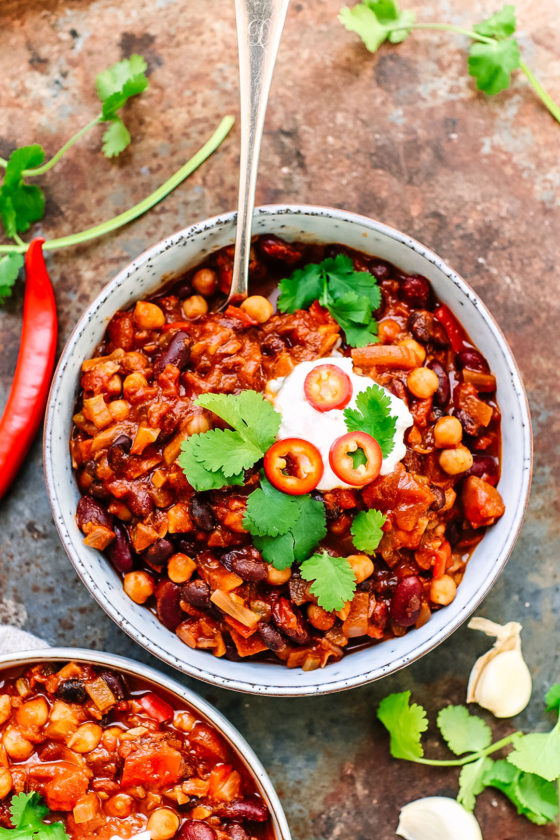vegan chilli