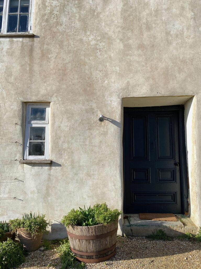 River cottage front door