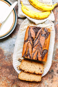 Banana bread gluten free and vegan