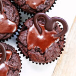 chocolate muffin hearts