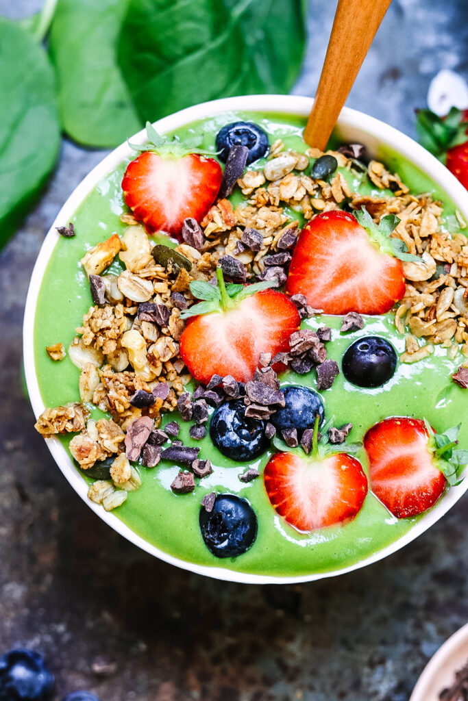 green smoothiebowl