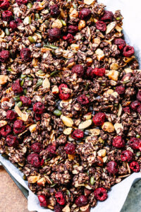 cherry and choc granola no choc chips