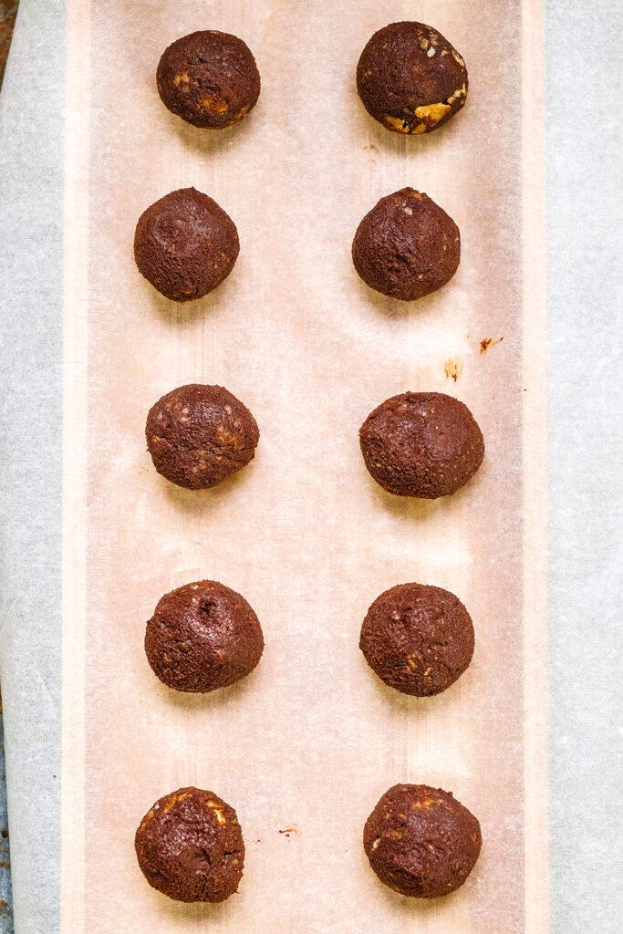 Choc truffle layout