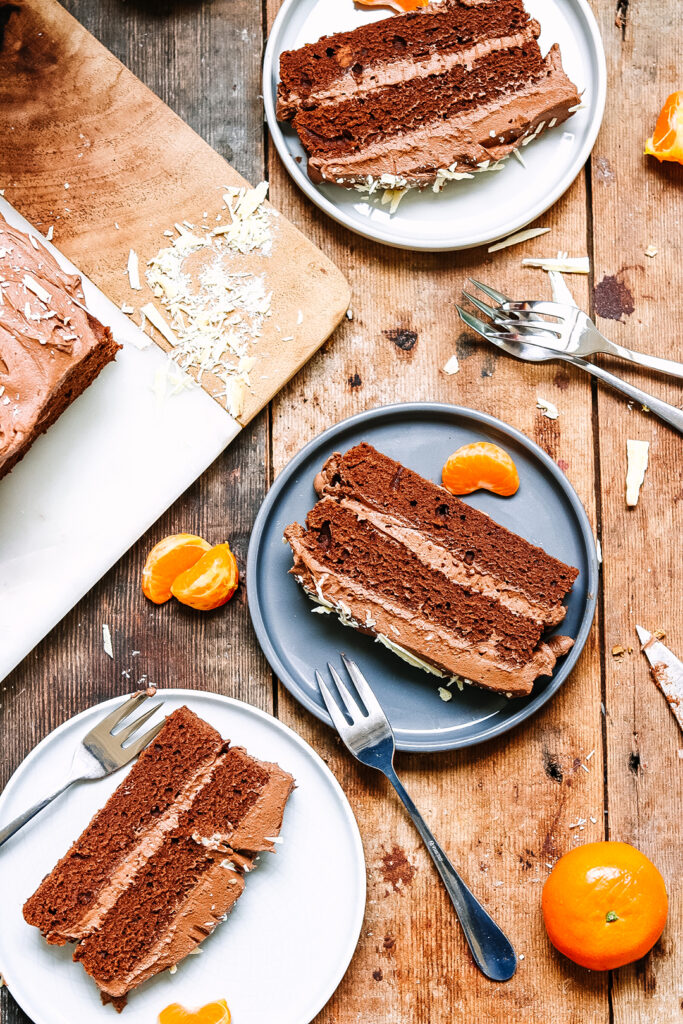 chocolate orange cake vegan