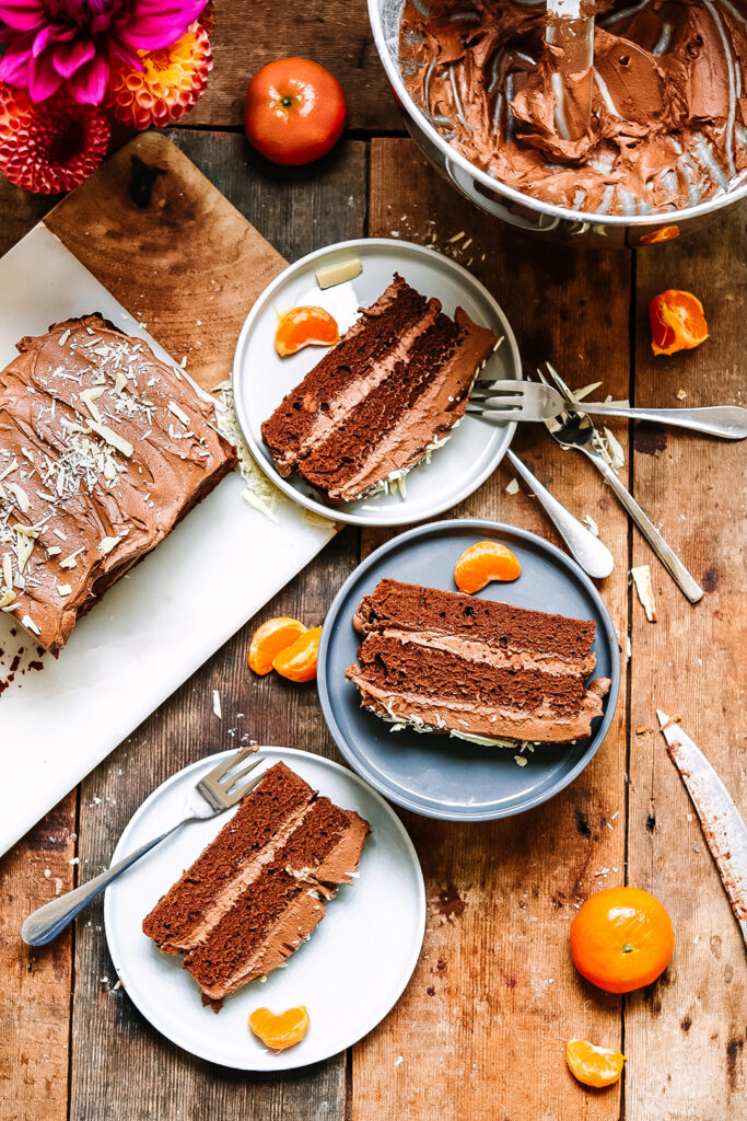 chocolate orange sponge cake