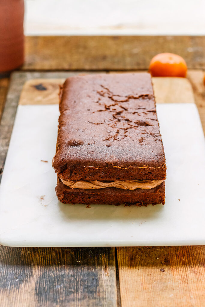 chocolate orange cake no icing
