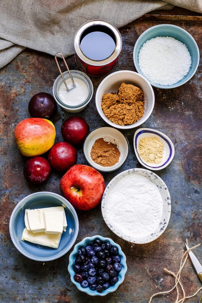 Parkin Cobbler Ingredients