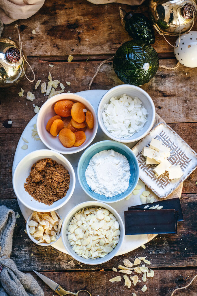 Apricot-and-Ginger-Florentines-ingredients-