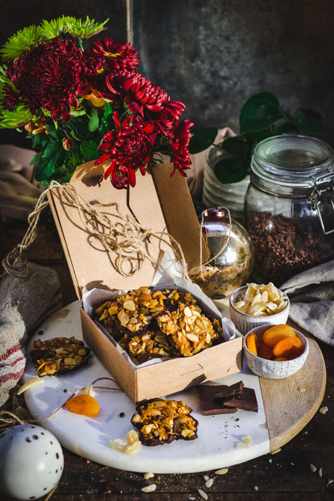 Apricot-and-Ginger-Florentines-setting