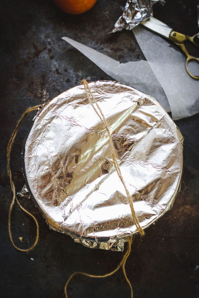 paper fold for steamed pudding