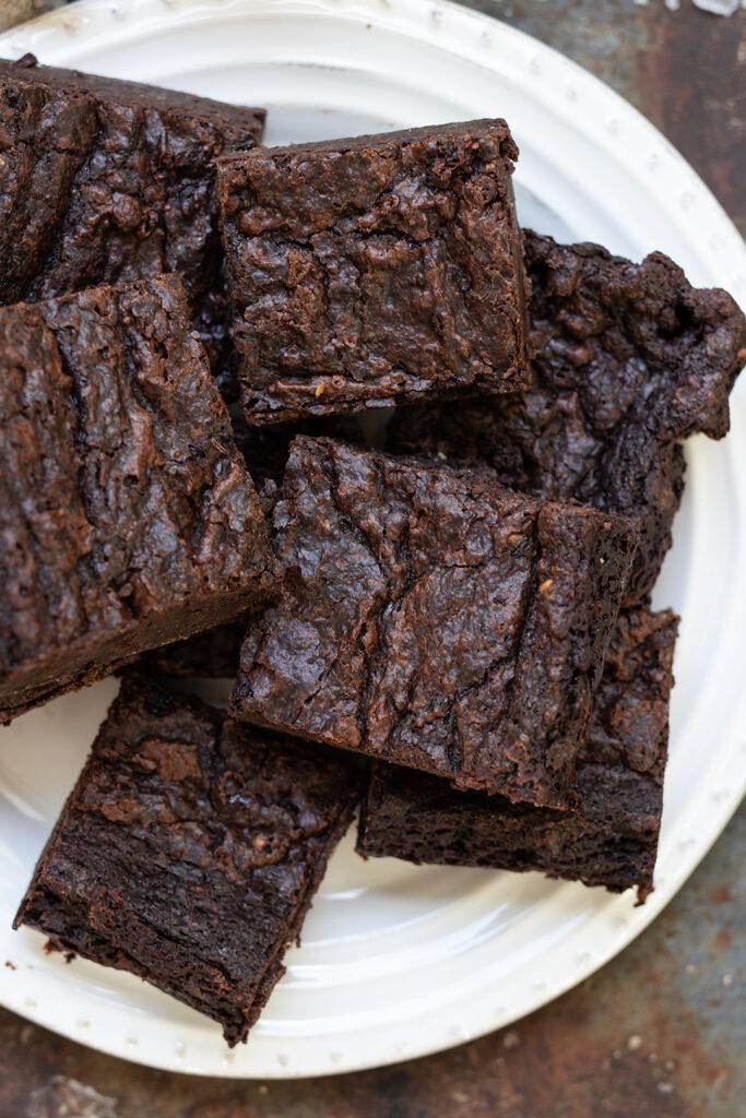 Easy-vegan-chocolate-brownies