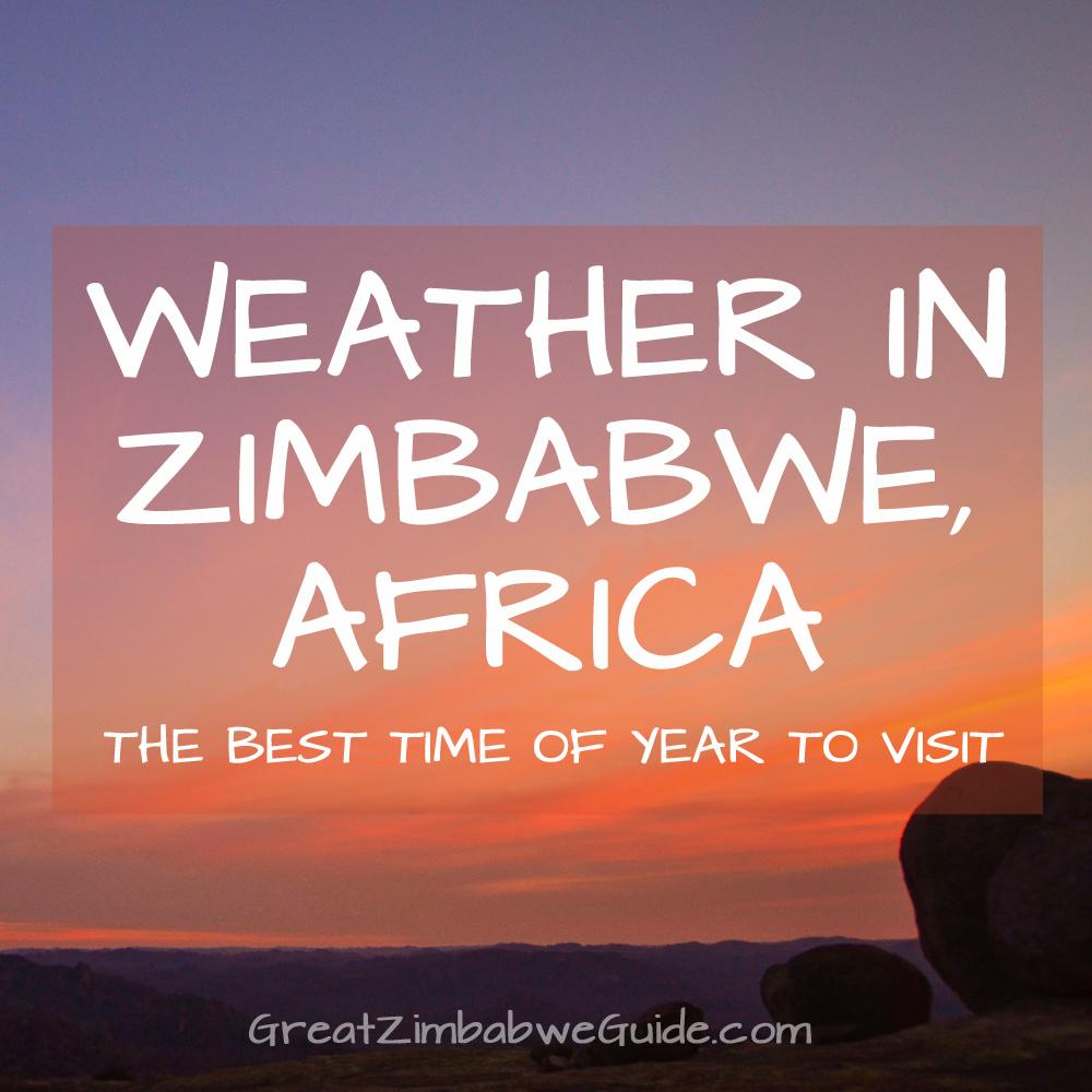 weather in zimbabwe africa