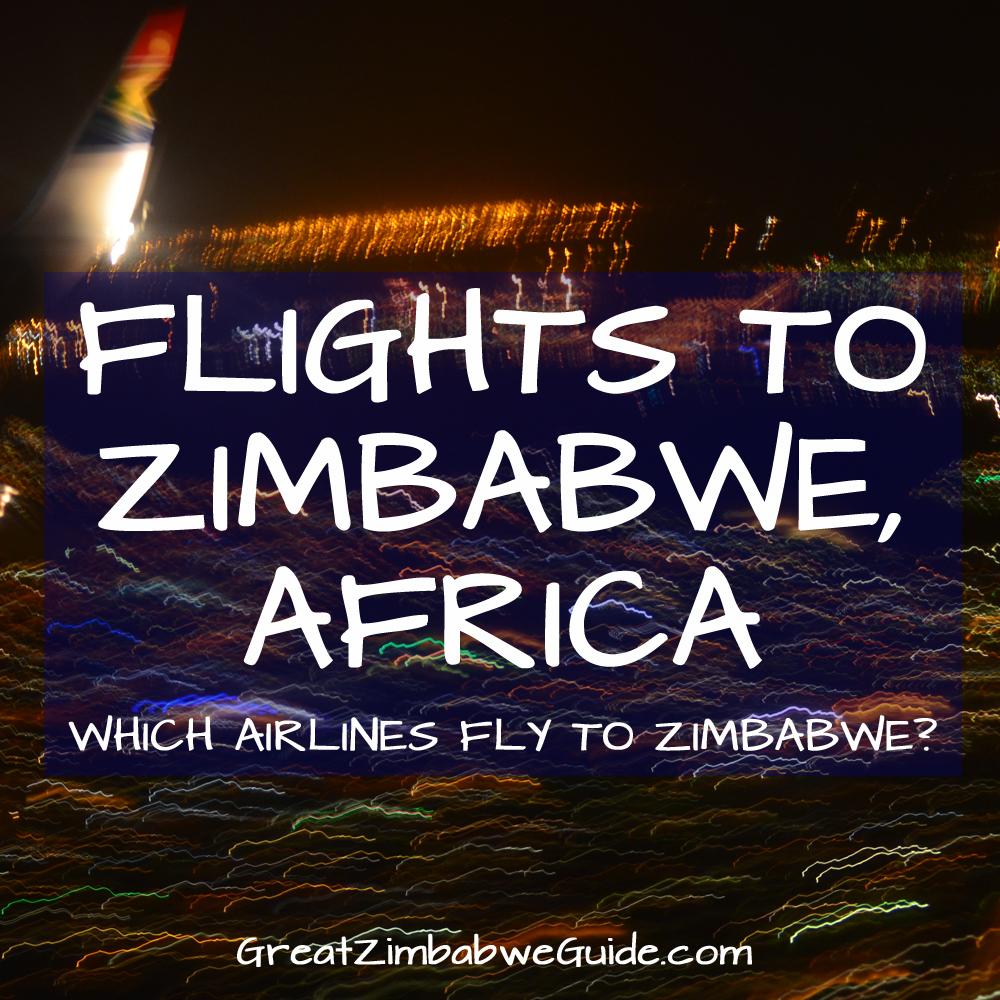 Flights to Zimbabwe Africa