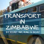 Transport in Zimbabwe Africa