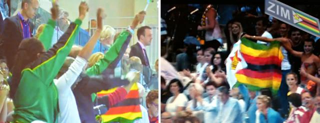 Zimbabwe Olympic supporters 2012 great zimbabwe guide