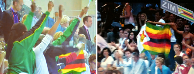 Zimbabwe at the 2012 Olympics: week one