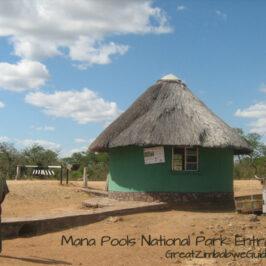 Mana Pools entrance
