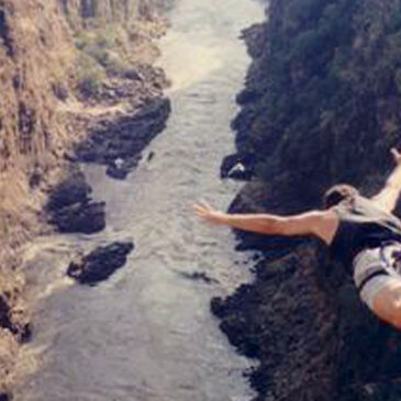 Best Vic Falls activities: 4. Do a bungee jump in Victoria Falls