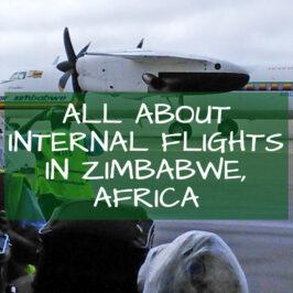 Internal Flights Zimbabwe Africa
