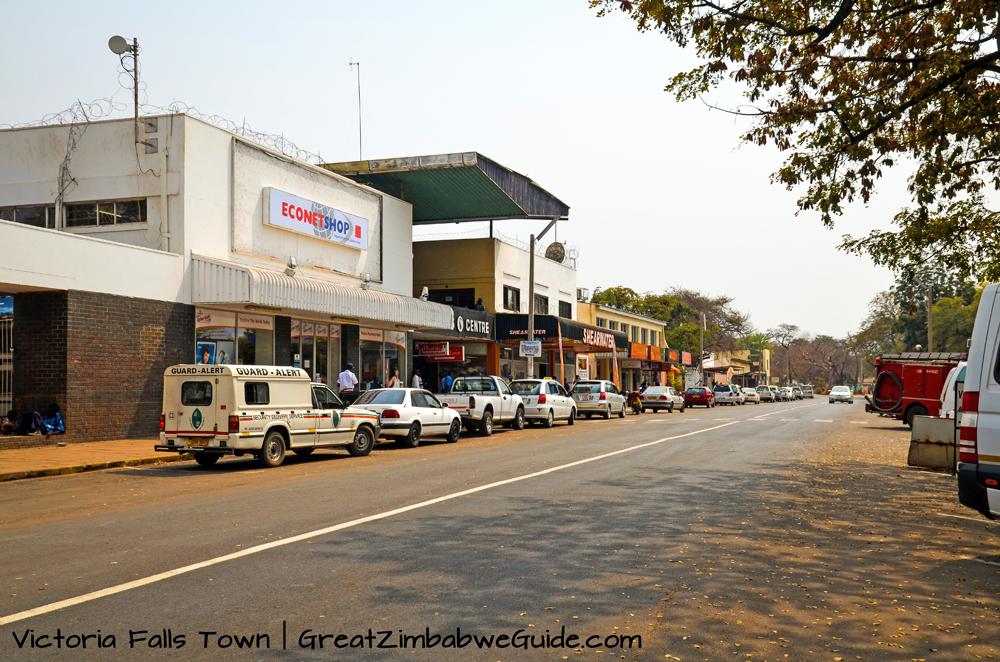 Victoria Falls Town Zimbabwe Africa