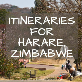 itineraries and Tours Harare Zimbabwe Africa