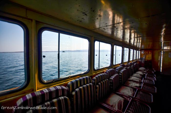 Kariba ferry cabin