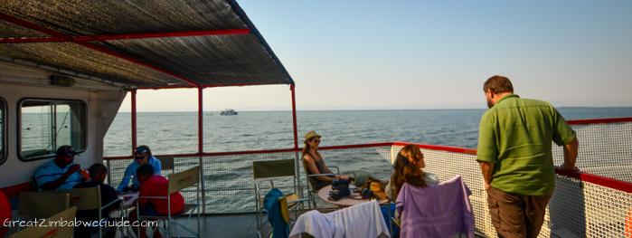 Kariba Ferries deck