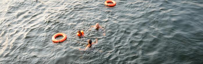 Lake Kariba swim