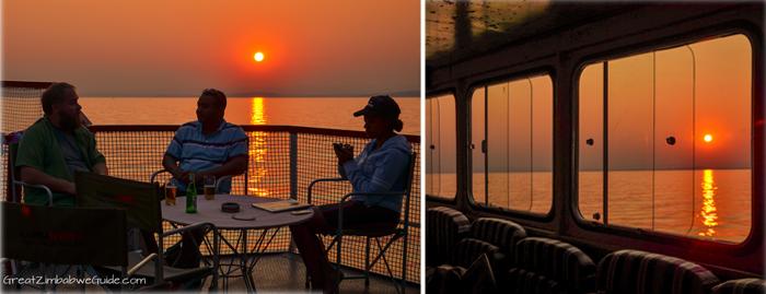 Kariba sunset ferry