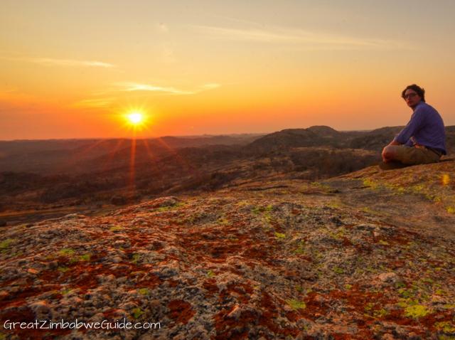 Matopos sunset Zimbabwe-1