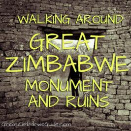 Route Walking Great Zimbabwe Monument Ruins